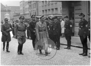 1101: Himmlerjev obisk v Mariboru, 4. 5. 1943, foto Ordelt.
