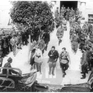 1483/280: Pogajanja med partizansko in italijansko vojsko o predaji orožja, Ribnica, 10. 9. 1943.