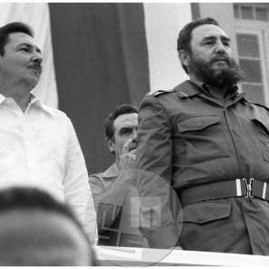 TS 78441-11, Fidel Castro na festivalu mladih, Kuba, 1978.