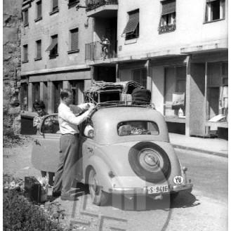 Odhod na počitnice, Ljubljana, 27. julij 1960.