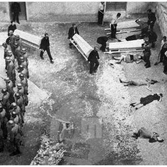 """587/5: Ustreljeni talci v celjskem """"Starem piskru"""", 22. 7. 1942."""