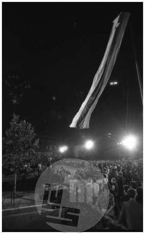 Slovesna razglasitev samostojne in neodvisne države Slovenije, Ljubljana, 26.6.1991.