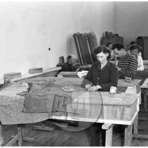 EP135_3: Tovarna pohištva, Nova Gorica, marec 1955, foto Milan Pogačar.