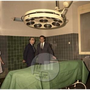 FS1895_10: Srčni kirurg Dr. De Bakey na obisku v Ljubljani, avgust 1967, foto Sašo Bernardi.
