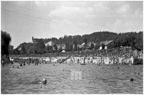 Kopalci na Ljubljanici, 10. 8. 1947.