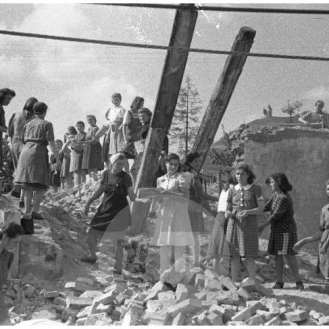 Udarnice pri delu, Maribor, 6. 9. 1947.