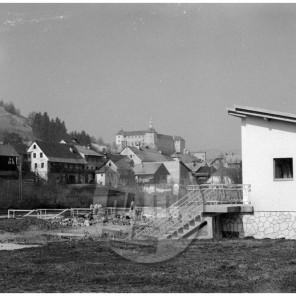MŠ106_13: Kopališče na Poljanščici, Škofja Loka, 1960.