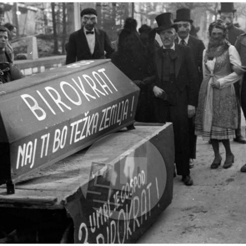 MŠ55_12: Pustni karneval v Ljubljani, 18. 2. 1950.