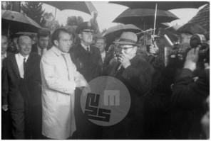 MC701000_19: Ameriški predsednik Richard Nixon in jugoslovanski predsednik Josip Broz Tito v Kumrovcu, Titovem rojstnem kraju, 1. oktober 1970.