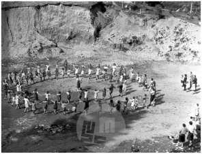 Počitniška kolonija pionirjev, Koroška Bela, 18. 7. 1948.