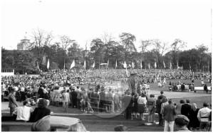 Prva Balkanjada v Ljubljani leta 1947.