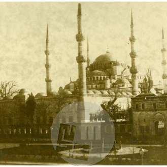 SL5305: Istanbul; trg, modra mošeja ali mošeja sultana Ahmeda.