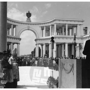 SL5715: Blagoslovitev Žal v Ljubljani, 7. 7. 1940.