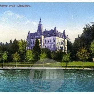 SL799: Dvorec dinastije Karađorđevićev Suvobor na Bledu.