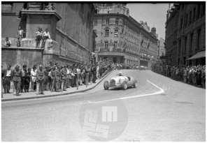 Avtomobilske dirke, Ljubljana, julij 1951.