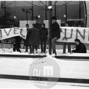 pic_008: Punk gibanje, Ljubljana, 16.1.1980.