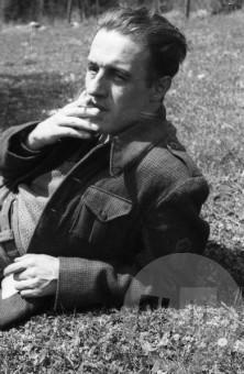 Dr. Milavec Karlo - Tine 20.4.1944. Foto: Janez Milčinski