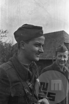 Z leve: Povh Dušan in Klopčič Mile. Foto: Franc Cerar