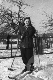 Bavec Slavka, borka Notranjskega odreda. Foto: Vinko Bavec