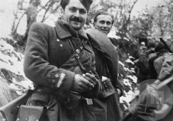 Komandant Bračičeve brigade Stane Bobnar-Gedžo na Graški gori 21.