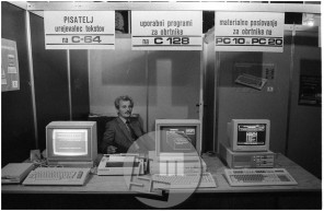Dob_11, Iz prvih začetkov praktične uporabe računalnikov.