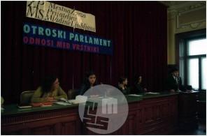 Dob_23, Otroški parlament, ki ga je pripravila Zveza prijateljev mladine Ljubljana.