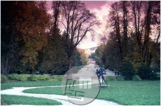 Dob_26, Jakopičevo sprehajališče v Ljubljani