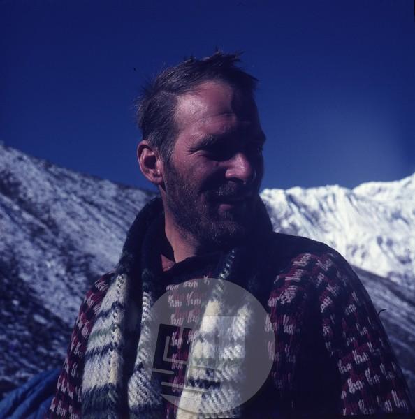 Aleš Kunaver kot vodja odprave v Hindukušu leta 1968. Foto: eden od članov odprave.