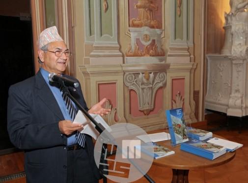 Častni generalni konzul Nepala mag. Aswin Shrestha. Foto: arhiv MNZS.