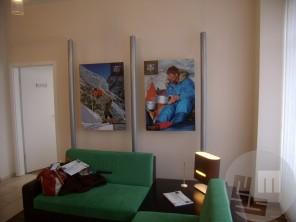 Gostovanje razstave Himalajski vodja Aleš Kunaver, Ljubljanske mlekarne.