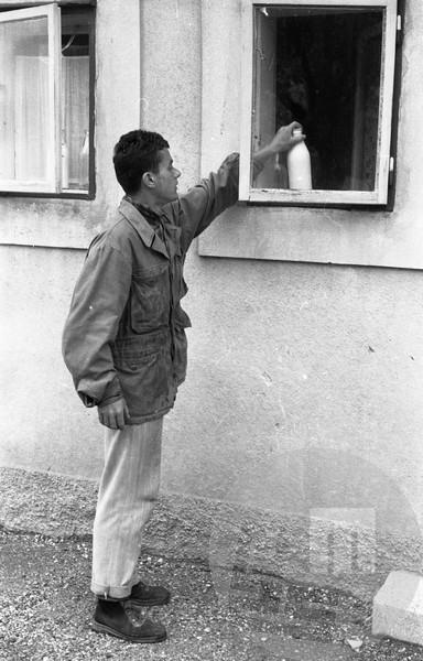 DE40_4: Ljubljana, junij 1957, foto: Svetozar Busić.