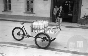 DE40_9: Ljubljana, junij 1957, foto: Svetozar Busić.