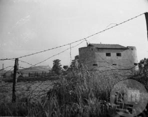 P_216: Bunker v Ljubljani, maj 1944, foto: Jakob Prešeren.