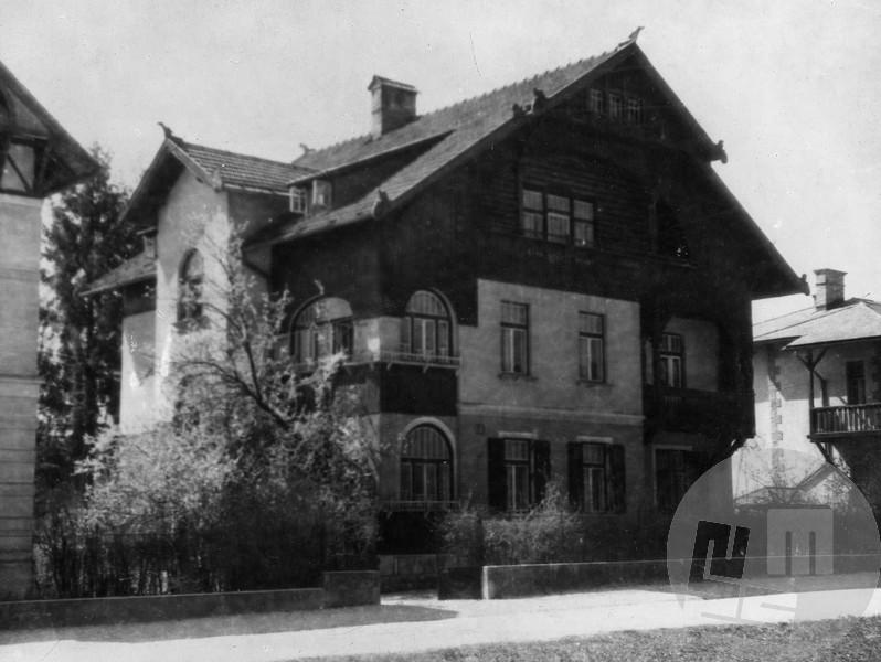 4561: V Vidmarjevi hiši na Večni poti št. 3 v Ljubljani je bil 27. april 1941 ustanovni sestanek Protiimperialistične fronte, foto: neznan.