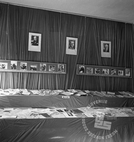 260-1057_7: Razstava gorenjskega tiska v Cerknem, foto: neznan.
