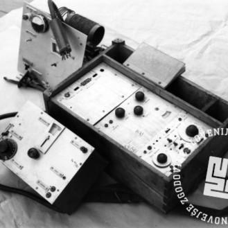 1972_46: Radijski oddajnik OF, imenovan Kričač, foto: neznan.