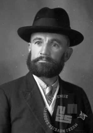 LP9569: Legitimacija Zavašnik Ludovik, 1942, foto: Peter Lampič.