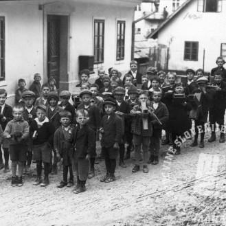 Velika noč - raglje, Tržič 1930, foto: neznan.