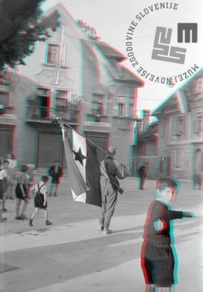 FS2239_21: Prihod partizanov na glavni trg v Radovljici, 10. maj 1945. Foto: Finžgar. The arrival of the Partisans to the main square in Radovljica, May 10th, 1945. Photo: Finžgar.