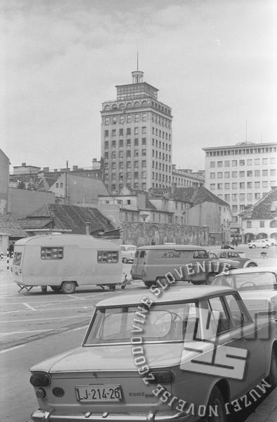 MC650606_2: Ljubljana, junij 1965, foto: Marjan Ciglič