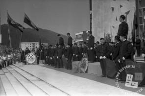 DE3807_12: Dan rudarjev v Velenju, 3. julij 1966, foto: Svetozar Busić.