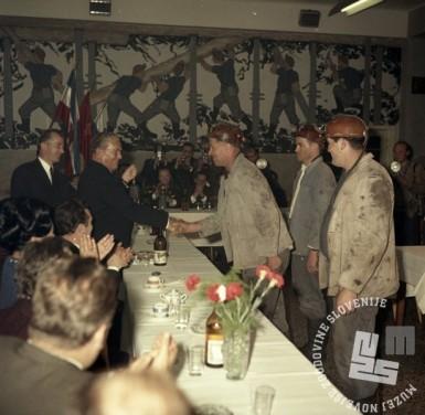 FSII2175_6: Tito v Rudniku Hrastnik, oktober 1968, foto: Sašo Bernardi