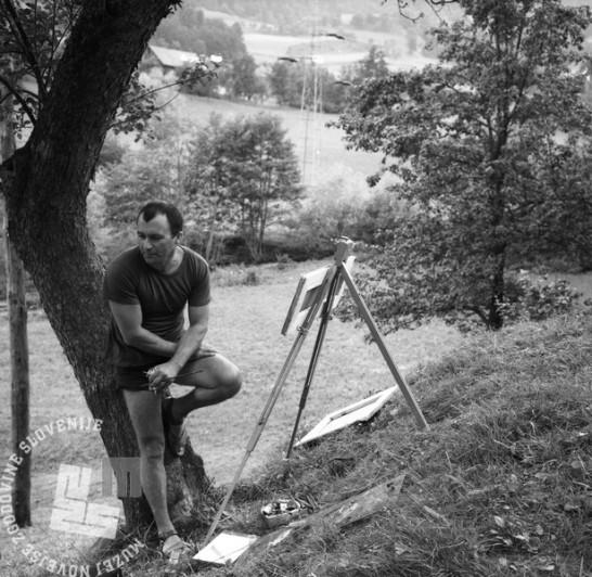 MC650701_18: France Slana, Izlake, julij 1965, foto: Marjan Ciglič
