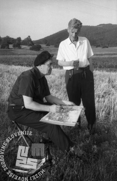 MC650701_25: Lojze Perko, Izlake, julij 1965, foto: Marjan Ciglič