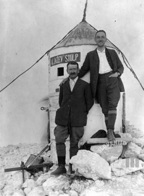 SL3483: Planina pri Aljaževem stolpu. Obdobje med obema vojnama, foto: neznan.