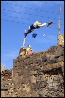 Izsek iz vsakdanjega življenja v Bosri. / A glimpse of everyday life in Bosra.