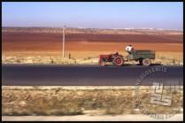 Slikovita sirijska pokrajina iz avtobusa. / Syrian picturesque landscape from the bus.