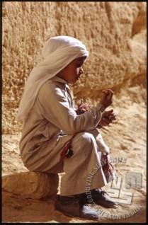 Deček v Palmiri. / A boy in Palmyra.