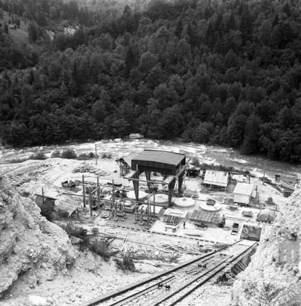 EP203_8: Gradnja hidrocentrale na Gorenjskem, junij 1951