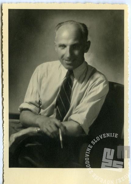Portret fotografa Boža Štajerja.